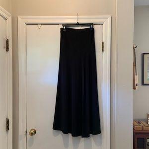 Dresses & Skirts - NWT Black Simpli split skirt